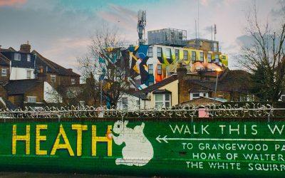Design the mural on platform 4 Thornton Heath station