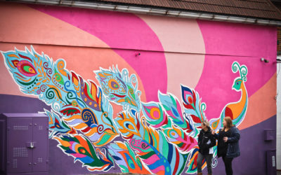 Shree Sakthy Ghanapathy Temple's mural project